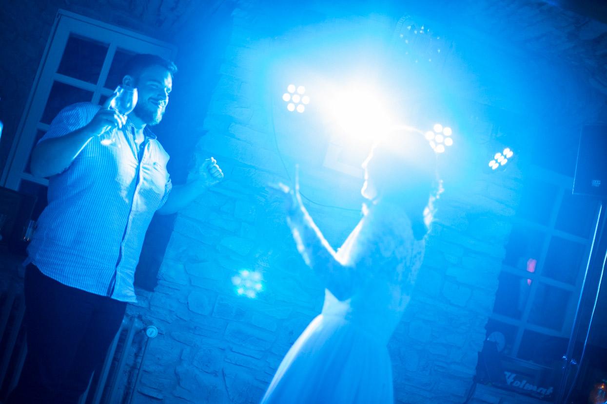 Die Braut tanzt