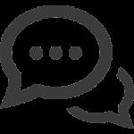 Icon einer Sprechblase